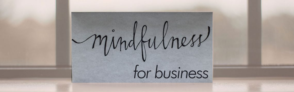 mindfulness for business north london menu image